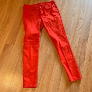 Orange The Limited 678 jeans.
